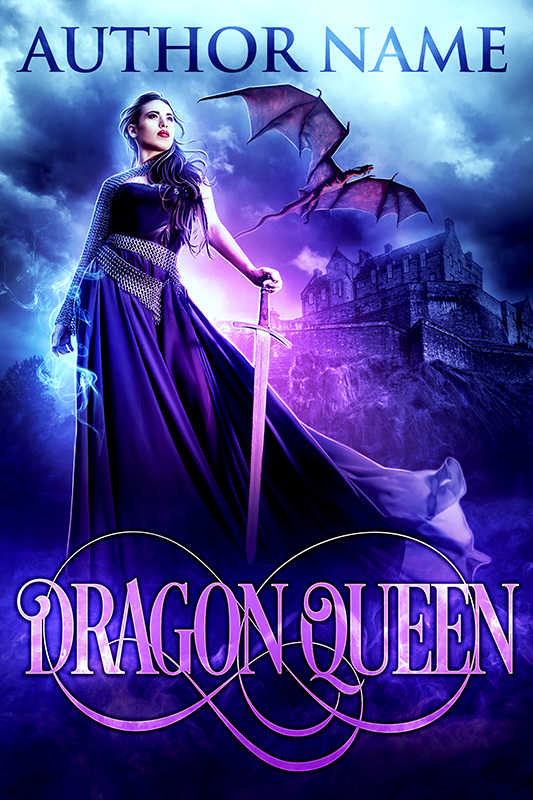 Cool Book Cover Queen : Dragon queen bewitching book covers by rebecca frank